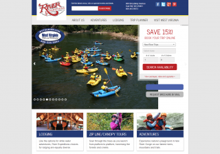 River Expeditions Website Redesign