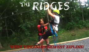 The Ridges Zipline Video